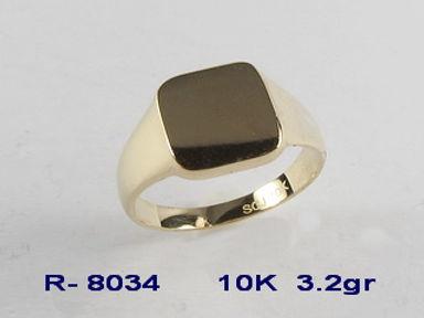10K Signet Rings