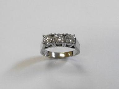 Diamond Trinity Rings