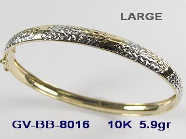10K Bangle Bracelets