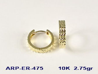 10K Huggy Earrings