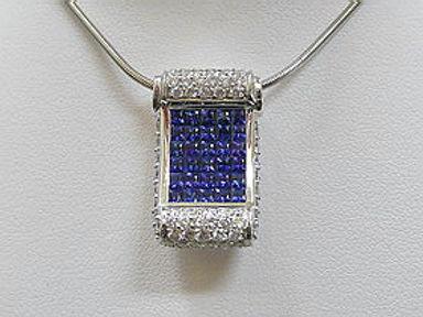 Diamond and Colour Stone Necklaces