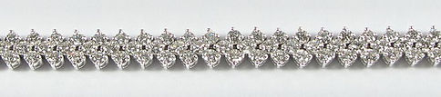 White Diamond Bracelets