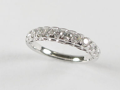 White Gold Diamond Bands