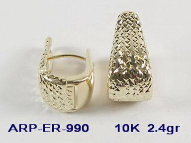 10K Lever Back Earrings