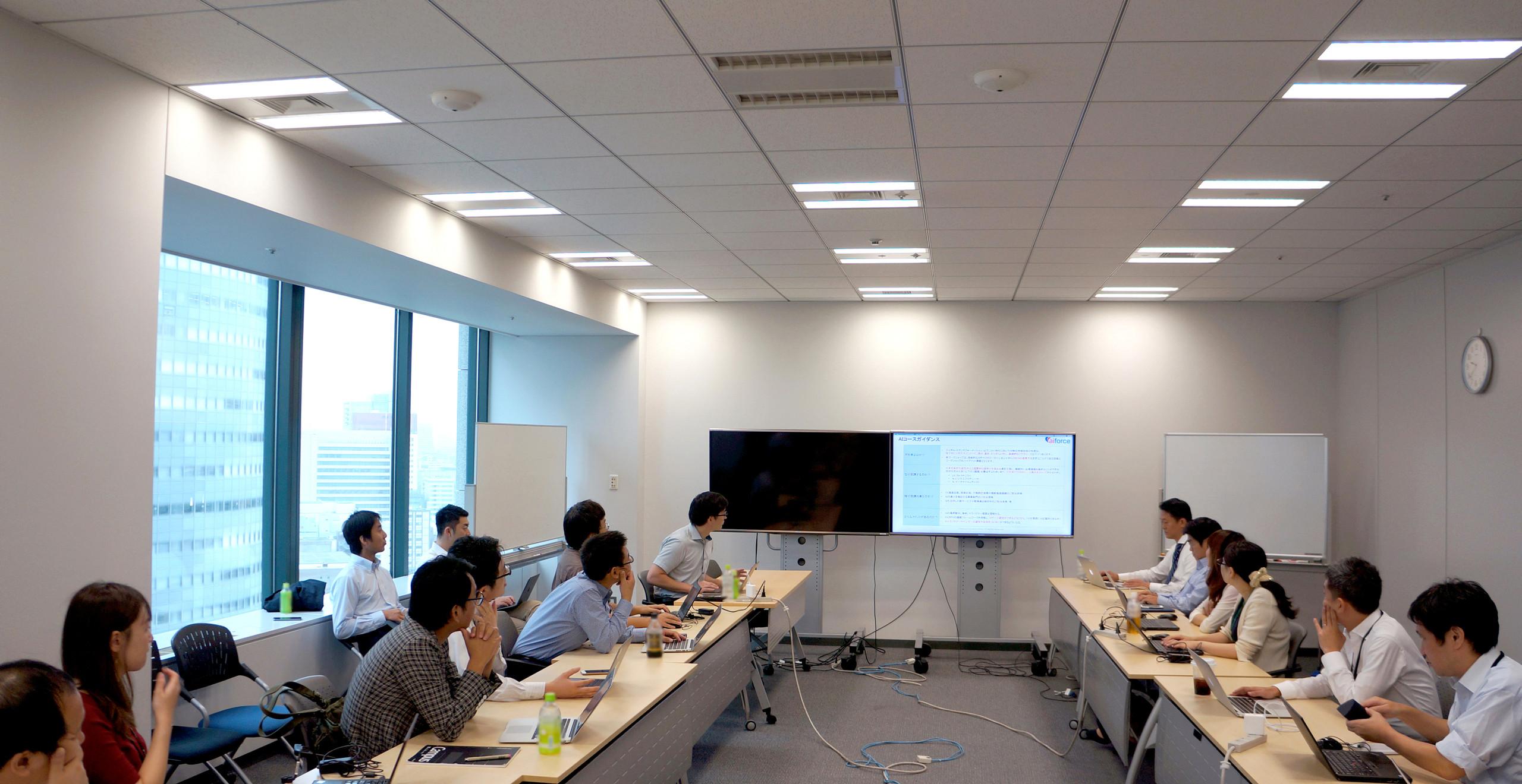 ソフトバンク株式会社 RPA推進部門及びAI事業推進部門様向けに、AIを活用したRPA高度化など「AI概論・実務」研修を実施10月11日の様子