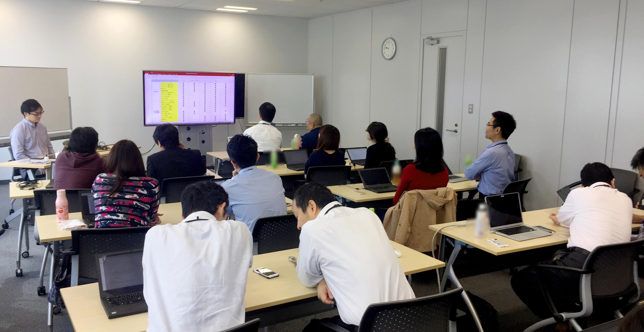 ソフトバンク株式会社 RPA推進部門及びAI事業推進部門様向けに、AIを活用したRPA高度化など「AI概論・実務」研修を実施10月18日の様子