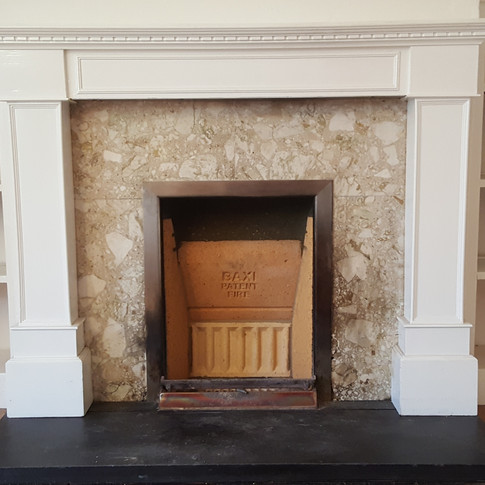 Replaced Baxi Burnell fire bricks