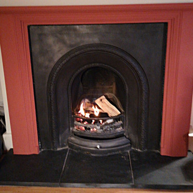 Carron cast fire inset