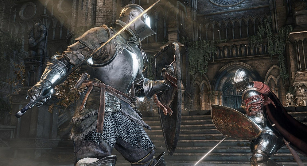 Dark Souls Fight