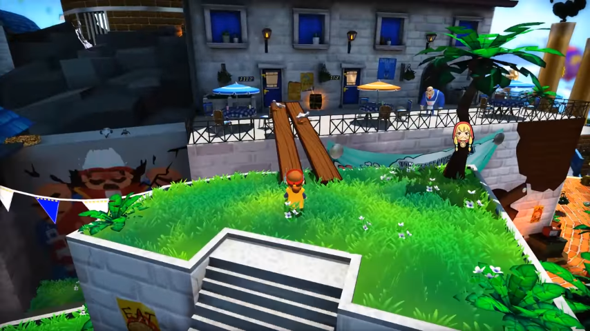 A Hat in Time Gameplay