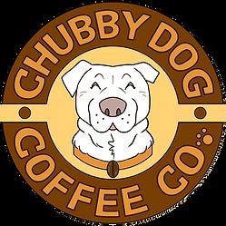 Adam R Commission Chubby Dog CoffeeLogo