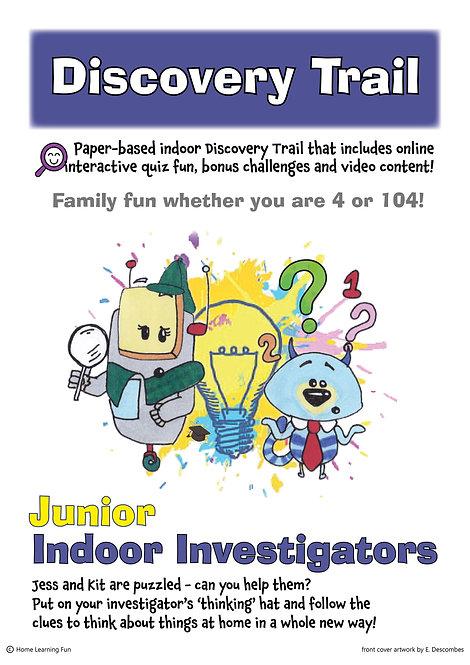 Discovery Trail Junior Indoor Investigators (Printed)
