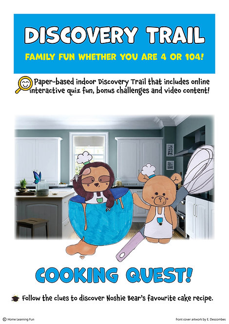 Discovery Trail Cooking Quest (Printed)