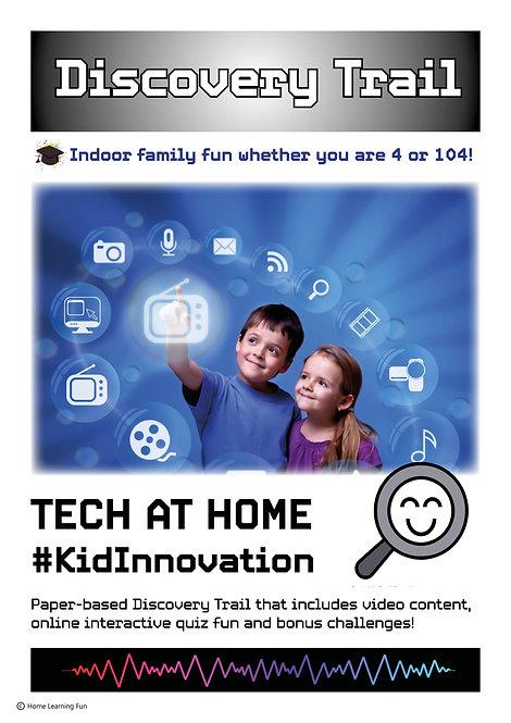 Discovery Trail Tech At Home #KidInnovation (Printed)