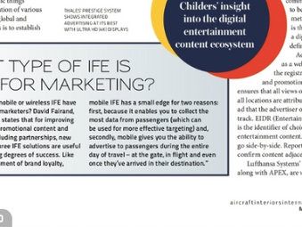 What type of IFE is best for marketing ?