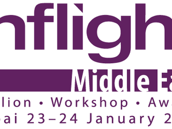 Adaptive speaks at the Inflight Middle East event in Dubai