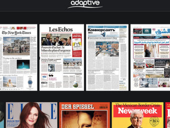 Adaptive offers free licence for digitised materials & magazines