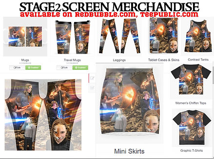 stage2screen merchandise more options