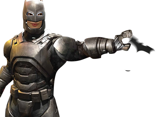 Sienna batman throwing batarang
