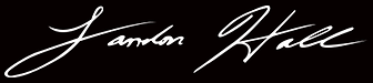Landon Hall signature logo