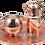 Thumbnail: Handmade Copper Moscow Mule Cocktail, Milk Pitcher 19fl.Oz (550ml)