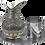 Thumbnail: Handmade Copper Moscow Mule Pitcher, Copper Jug, 61fl.Oz (1800ml)