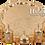 Thumbnail: Traditional Design Cast Zamak Turkish Coffee Set for Six - Gold