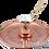 Thumbnail: Handmade Copper Turkish Coffee Pot with Brass Handle - 500ml