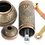 Thumbnail: Traditional Brass Coffee/Spice Grinder, Mill -Antique Gold