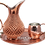 Thumbnail: Handmade Engraved Copper Moscow Mule Pitcher 34fl.Oz (1000ml)