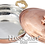 Thumbnail: Handmade Copper Pan Cooker, Sauce Pan Set- Large-22cm / Medium-20cm / Small-18cm