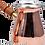 Thumbnail: Engraved Copper Coffee Pot Set - Small-250ml / Medium-350ml / Large- 450ml