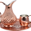 Thumbnail: Handmade Engraved Copper Moscow Mule Pitcher 56fl.Oz (1650ml)