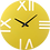Thumbnail: Minimal Design Wall Clock Rome -Yellow