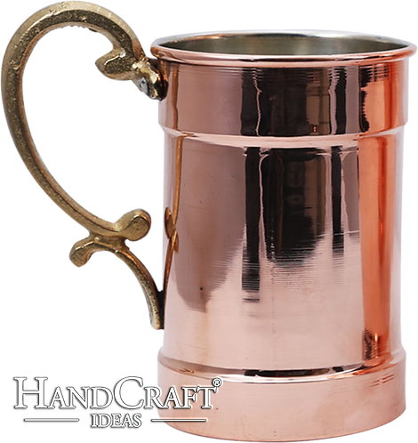 Moscow Mule Handmade Copper Beer, Cocktail Mug - 34 fl.Oz (1000ml)