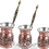 Thumbnail: Engraved Copper Coffee Pot Set - Small-150ml / Medium-250ml / Large- 350ml