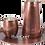 Thumbnail: Handmade Antique Copper Barrel Mug - 17 fl.Oz (500ml)