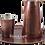 Thumbnail: Handmade Antique Copper Pitcher, Copper Jug 47fl.Oz (1400ml)