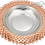 Thumbnail: Handmade Heavy Gauge Engraved Copper Serving Platter with Lid