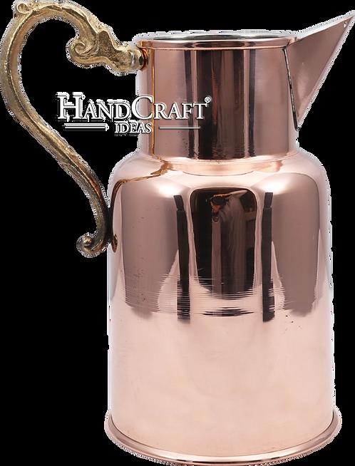 Handmade Copper Moscow Mule Cocktail, Milk Pitcher 39fl.Oz (1150ml)