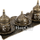 Thumbnail: Traditional Design Cast Zamak Turkish Coffee Set ; Espresso Set for Two