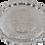 Thumbnail: Cast Zamak Serving Tray - Silver / 35cm