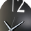 Thumbnail: Minimal Design Wall Clock Plain -Black