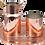 Thumbnail: Handmade Copper Moscow Mule Cocktail, Milk Pitcher 39fl.Oz (1150ml)