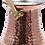 Thumbnail: Handmade Copper Turkish Coffee Pot with Brass Handle - 350ml