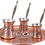 Thumbnail: Engraved Copper Coffee Pot Set - Small-125ml / Medium-200ml / Large- 325ml