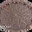 Thumbnail: Cast Zamak Serving Tray - Bronze / 35cm