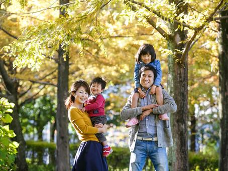 家族の写真。みんなの写真。