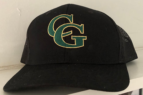 Black Casa Grande Initial Hat