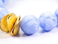 Blue Chunky Bracelet